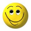 smiley 1-heel blij af